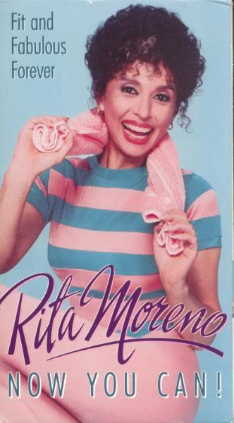 Rita Moreno workout